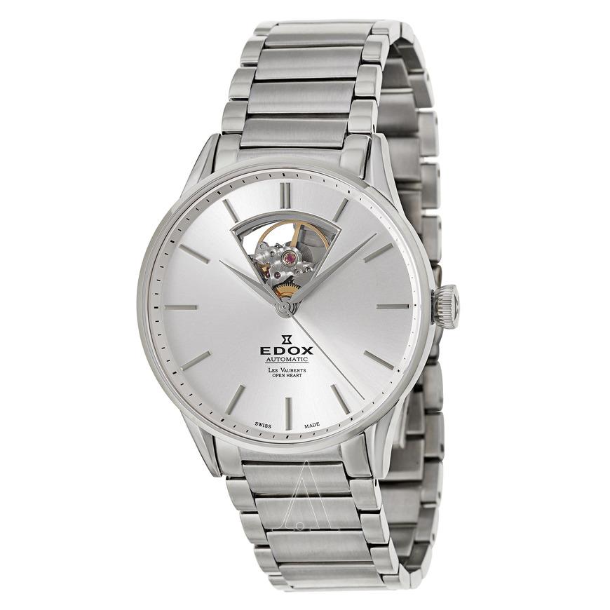 Edox Men's Les Vauberts Automatic Watch $329 + Free shipping