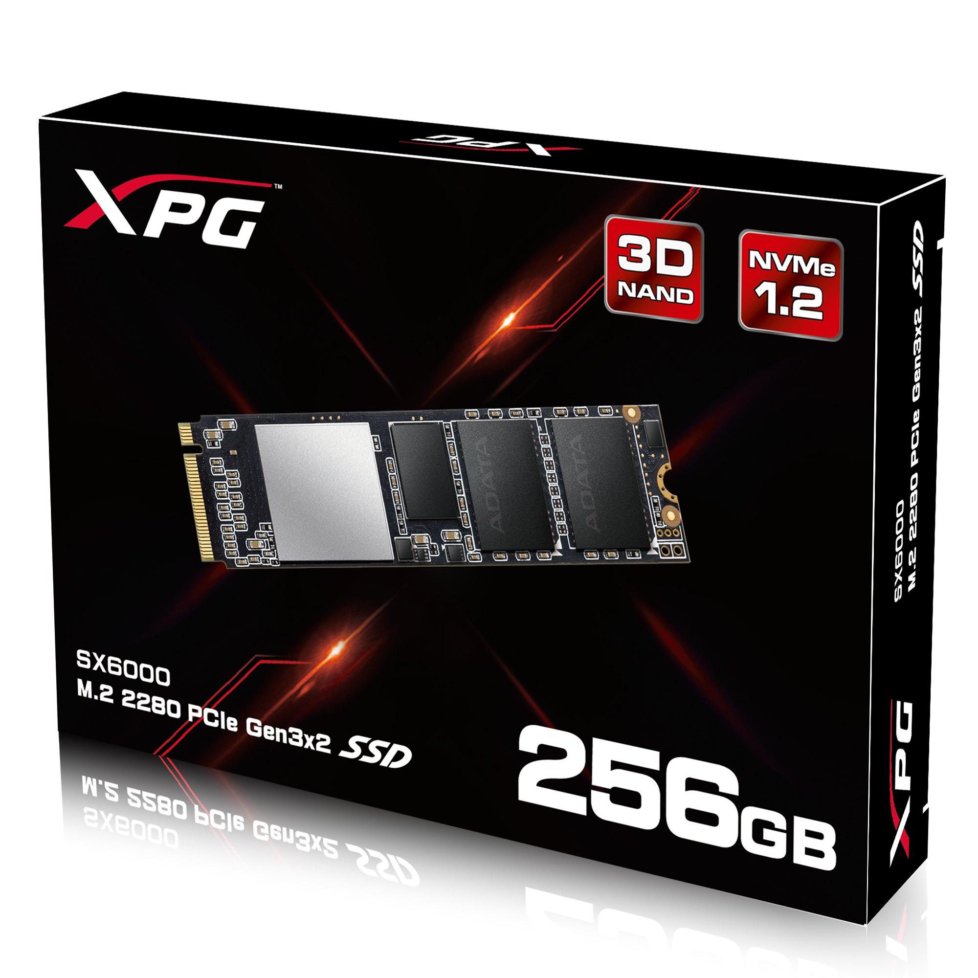 256GB Adata XPG SX6000 PCIe Gen3x2 M.2 2280 SSD $80 + free s/h
