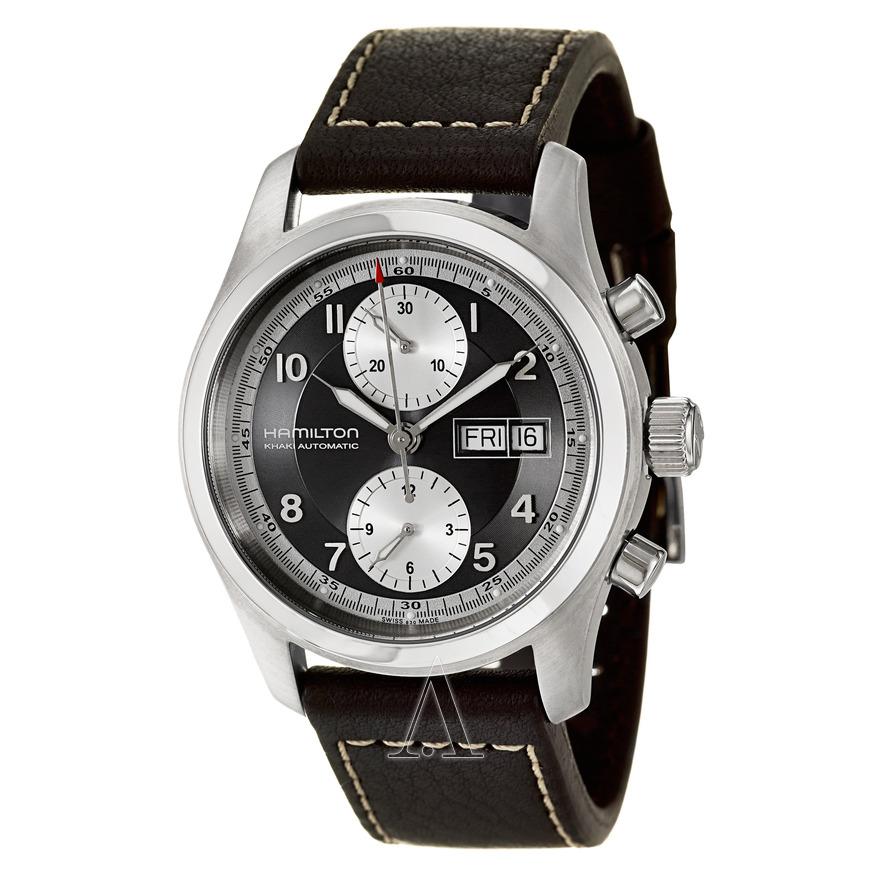 Hamilton Men's Khaki Field Automatic Chronograph Watch $539 + free s/h