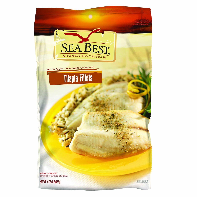 10Lbs Sea Best Tilapia Fillets (frozen, raw) $32