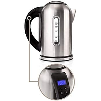 Willow & Everett Electric Kettle w/ Variable Temperature Controls $15 or salt & pepper grinder $11
