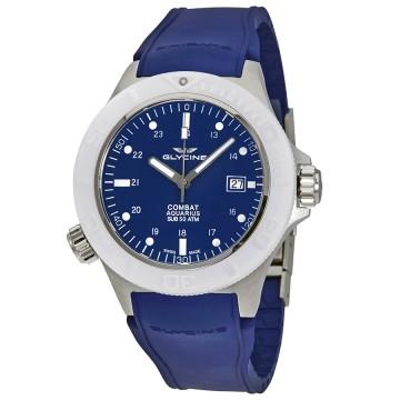 Glycine Combat Sub Aquarius Automatic Watches - 5 Models $499 each + free s/h
