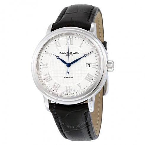 Raymond Weil Maestro White Roman Numerals Automatic Watch  $395 + free s/h