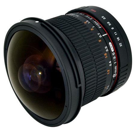 Rokinon 8mm f/3.5 HD Fisheye Manual Focus Lens (canon EF) $160 + free s/h