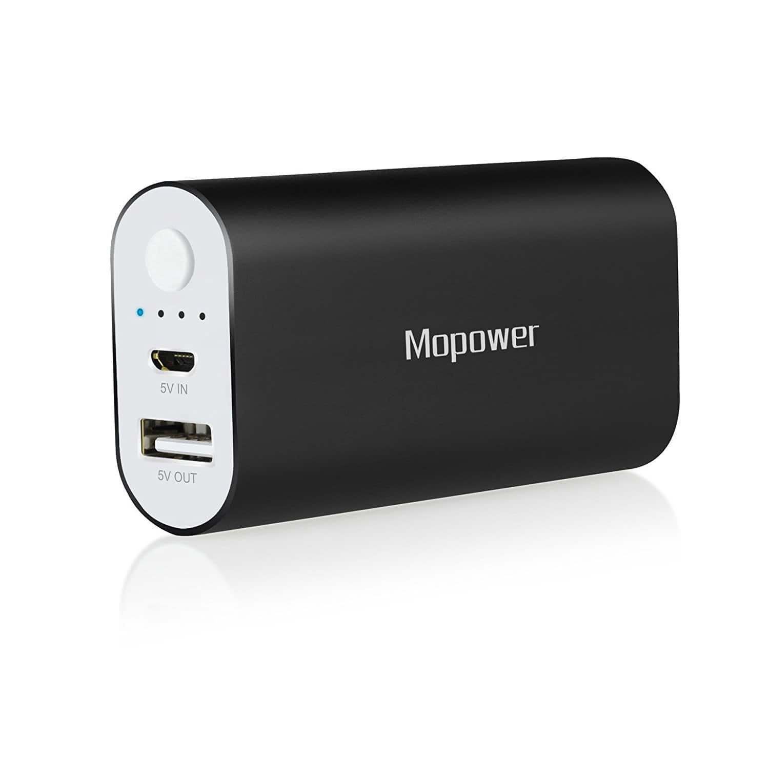 6000mAh Mopower Portable USB Power Bank $4.50