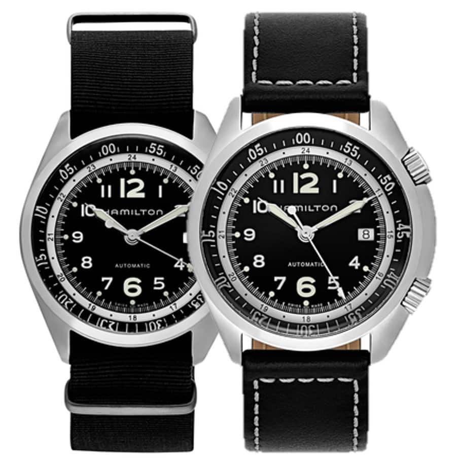 Hamilton Khaki Aviation Pilot Pioneer Automatic Watch $395 + free s/h