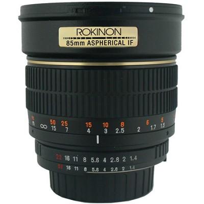 Rokinon 85mm F1.4 (canon or sony e) Lens $249, Rokinon DS 24mm T1.5 Lens + DS 85mm T1.5 Canon Cine Lenses $799 + free s/h