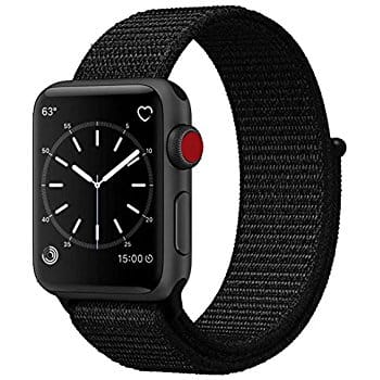 42mm Nylon Replacement Band for Apple Watch or Nike+ Series 3/2/1 $7.50