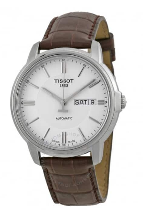 Tissot Watch Sale (Amazon Checkout): Automatic III Watch $265, Carson Automatic Chronograph $349 & more + free s/h