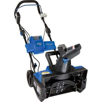 "Snow Joe iON 18"" 40V Cordless Snow Blower w/ Battery (Refurb w/ 1-yr Extended Warranty) $164 + free s/h"