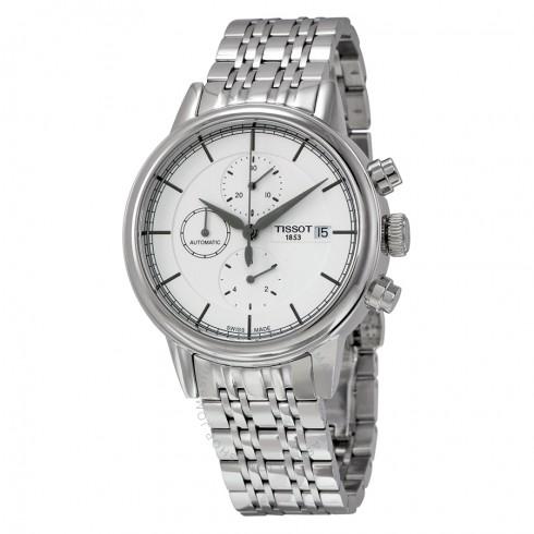 TISSOT Carson Chronograph Automatic Chronograph Watch $339 + free s/h
