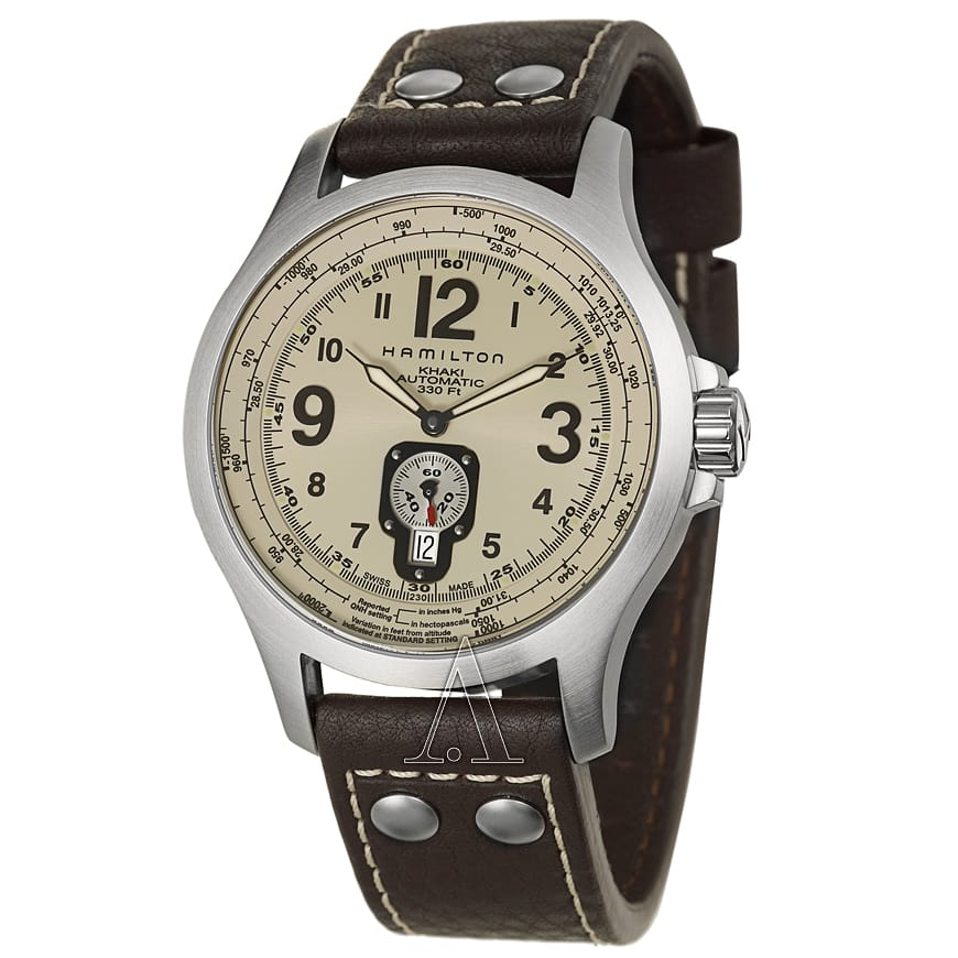 Hamilton Men's Khaki Aviation QNE Watch $399 + free s/h