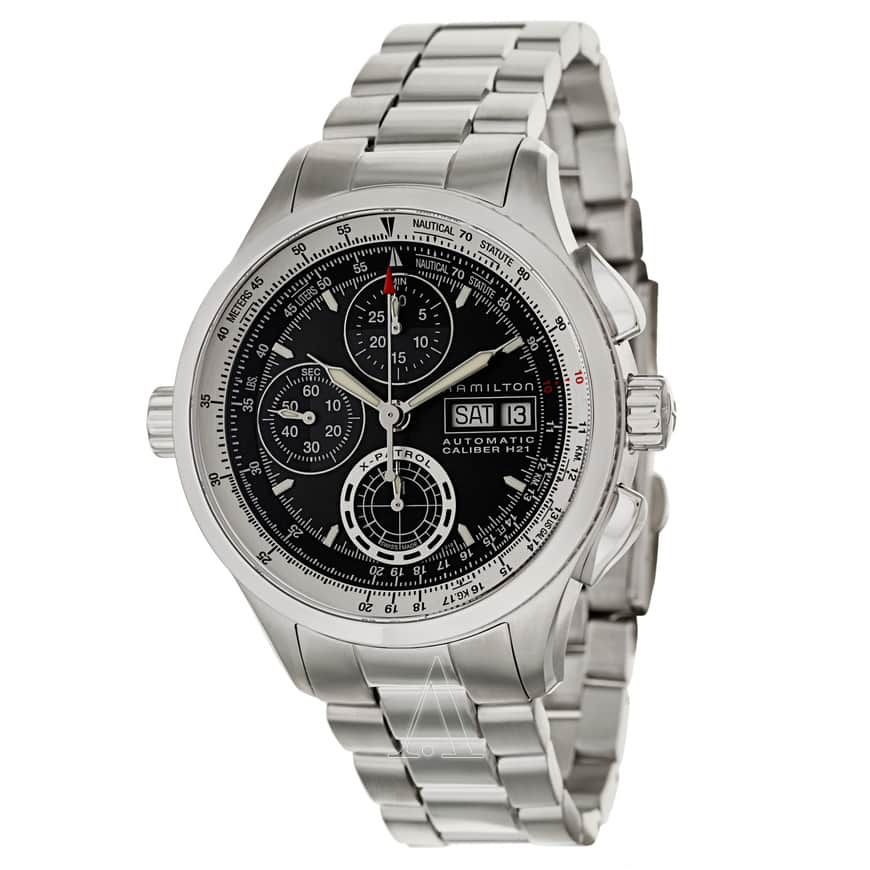 Hamilton Men's Khaki Aviation X-Patrol Automatic Chronograph Watch $699 + free s/h