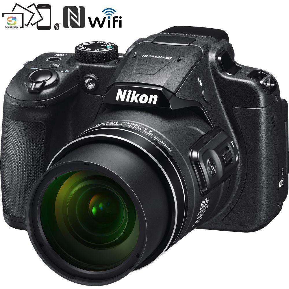 Nikon B700 20.2 MP 60x Opt Zoom Digital Camera (refurb) $270 + free s/h