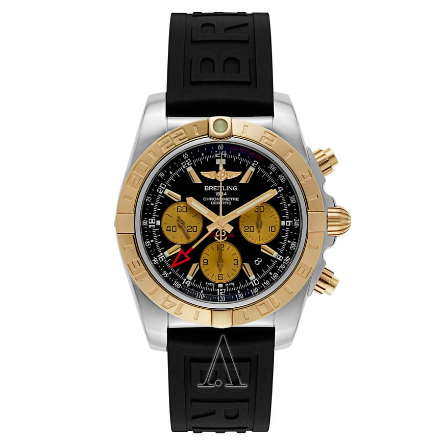 Breitling Chronomat 44 Automatic Chronograph + GMT Watch $5695 + free shipping