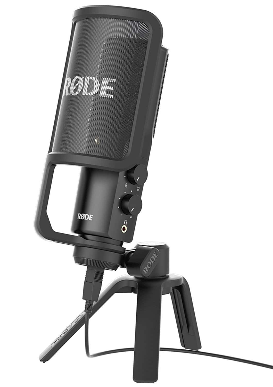 Rode NT-USB USB Condenser Microphone w/  Pop Filter $134 + free s/h