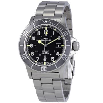 Glycine Combat Sub Automatic Diving Watch $419 + free s/h