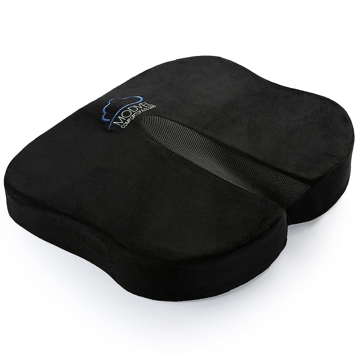 Modvel Memory Foam Seat Cushion For Back Pain, Tailbone, Coccyx & Sciatica Relief $10