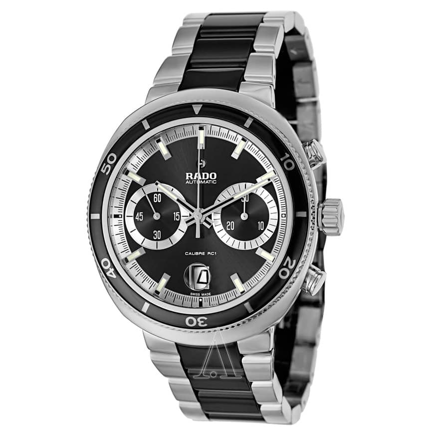 Rado Men's D-Star 200 Automatic Chronograph Watch $1029 + free s/h