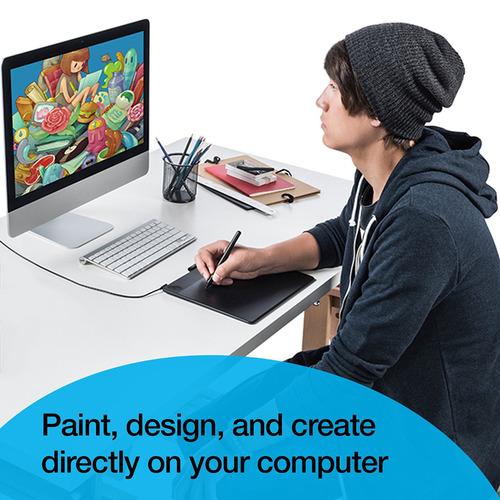 Wacom Intuos Art Pen & Tablet + Stylus Mini + PaintShop Pro