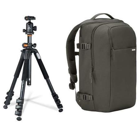 Incase DSLR Pro Backpack + Vanguard 4-section Aluminum Tripod w/ Ball Head $153 + free s/h