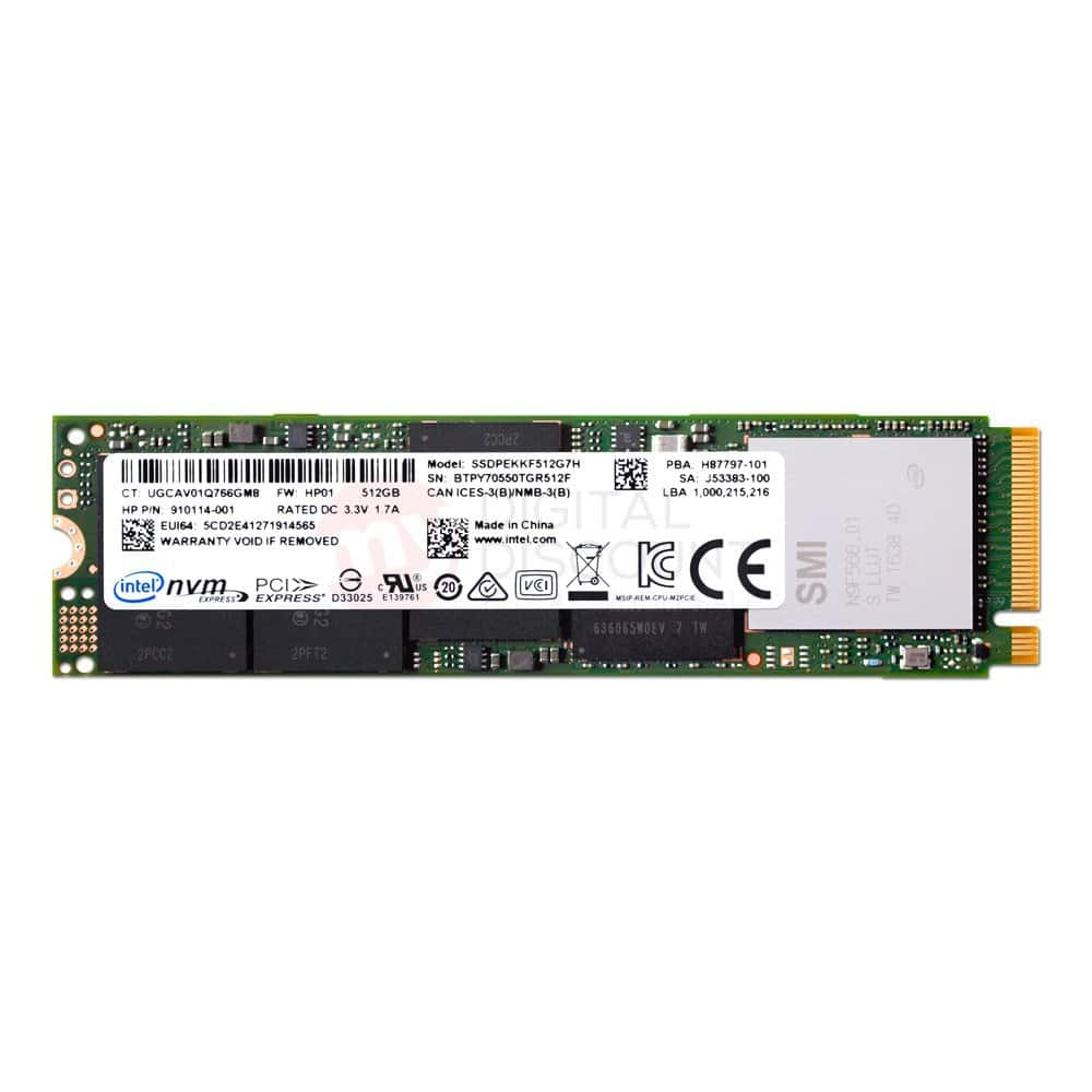 512GB INTEL / HP PRO 6000P Series AES 256-BIT Single Sided NVME SSD $150 + free s/h