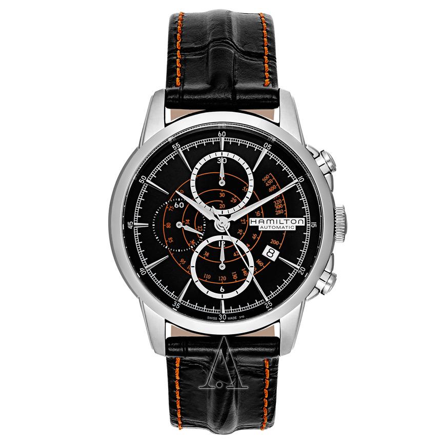 Hamilton Men's American Classic Railroad Automatic Chronograph Watch $779 + free s/h