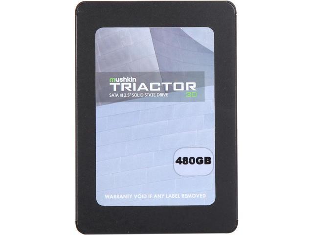 "480GB Mushkin Enhanced TRIACTOR 3DL 2.5"" SATA III SSD $100 + free s/h"