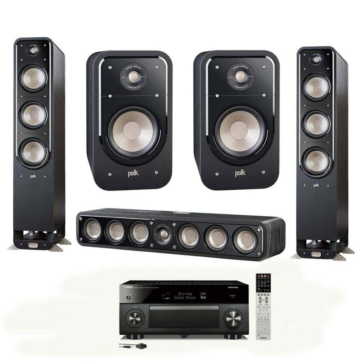 polk signature speakers yamaha rx 2070 receiver s60. Black Bedroom Furniture Sets. Home Design Ideas