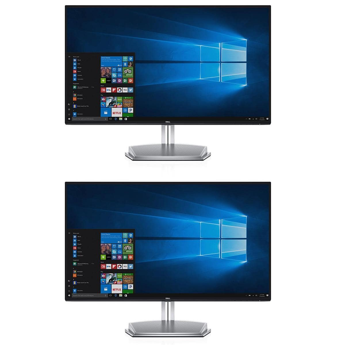 "(2-pack) 27"" Dell S2718H InfinityEdge 1080p Monitors $355 + free s/h"