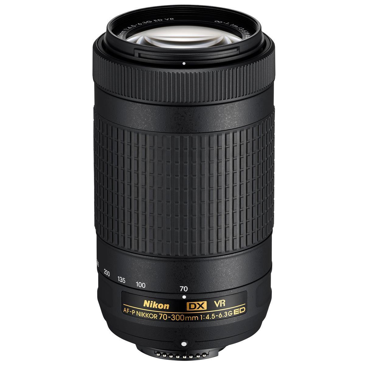 Nikon AF-P DX NIKKOR 70-300mm f/4.5-6.3G ED VR Lens (refurb) $150 + free s/h