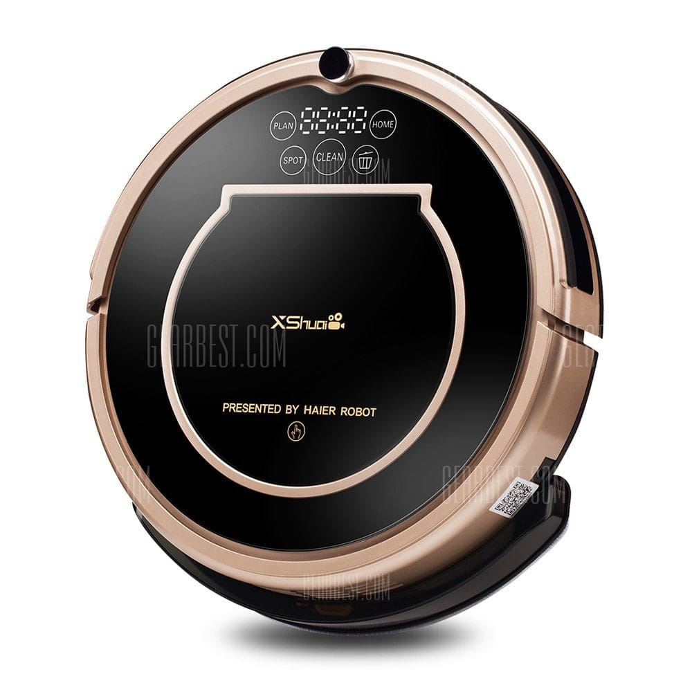 XShuai T370 WiFi Robotic Vacuum Cleaner $140 + 3-6 day free s/h