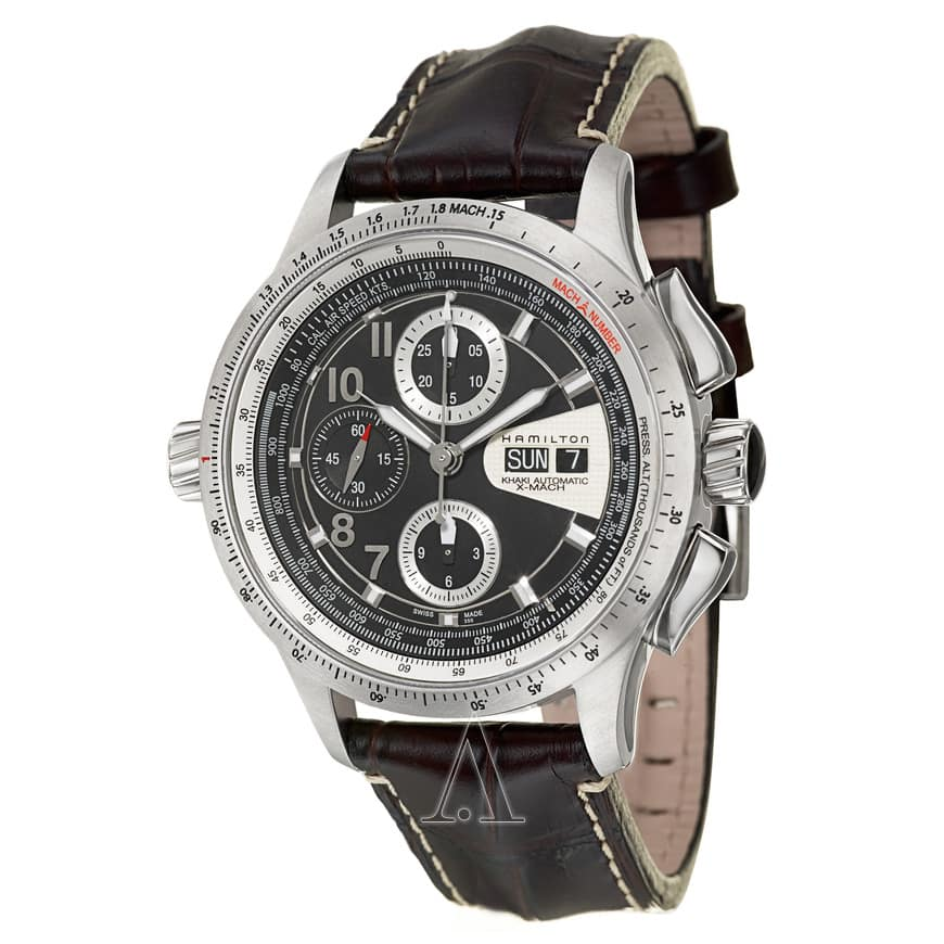 Hamilton Khaki Aviation X-Mach Automatic Chronograph Watch $749 + free s/h