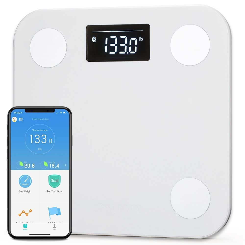 Yunmai Smart Bluetooth Scale w/ Extra Large Display $23 + free s/h