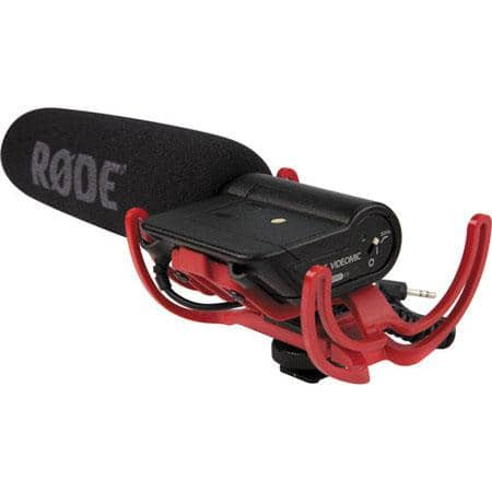 Rode VideoMic with Rycote Lyre Suspension System $99 + free s/h