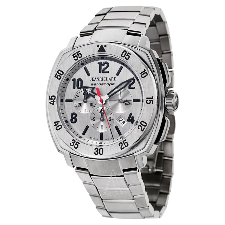 JeanRichard Men's Titantium Aeroscope Automatic Chronograph Watch $899 + free s/h