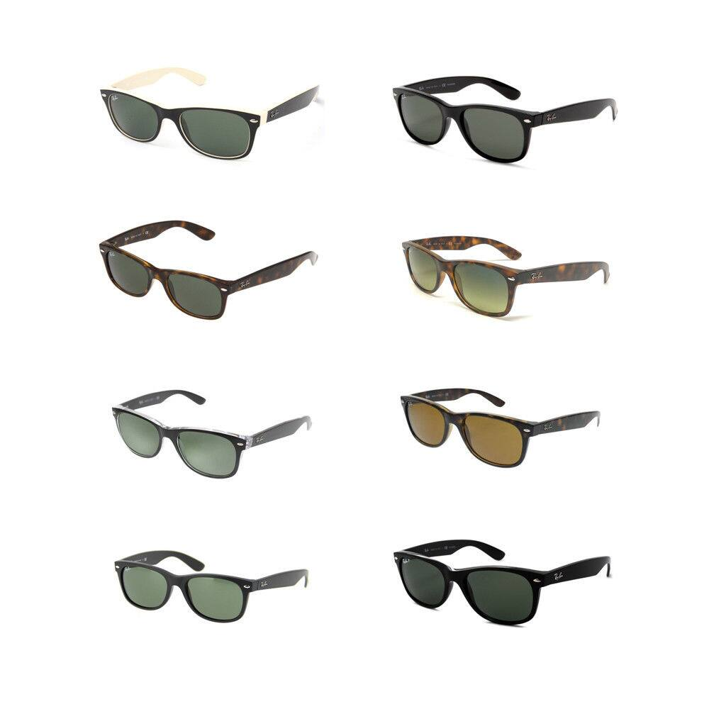 Ray Ban Sunglasses: RB2132 New Wayfarer Sunglasses $57.60, Gunmetal Rectangle $55.60, 54mm Erika OR 58mm Aviator $53.60 + free s/h