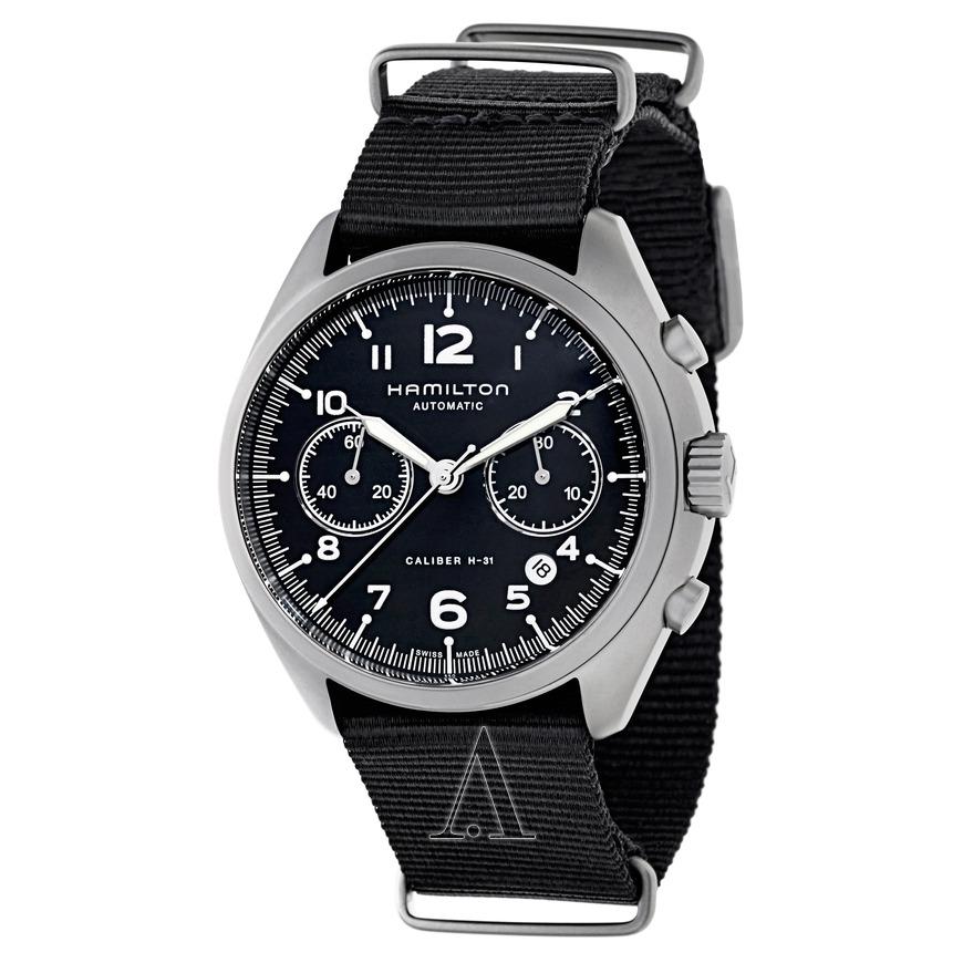 Hamilton Men's Khaki Aviation Pilot Pioneer Automatic Chronograph Watch $699 + free s/h