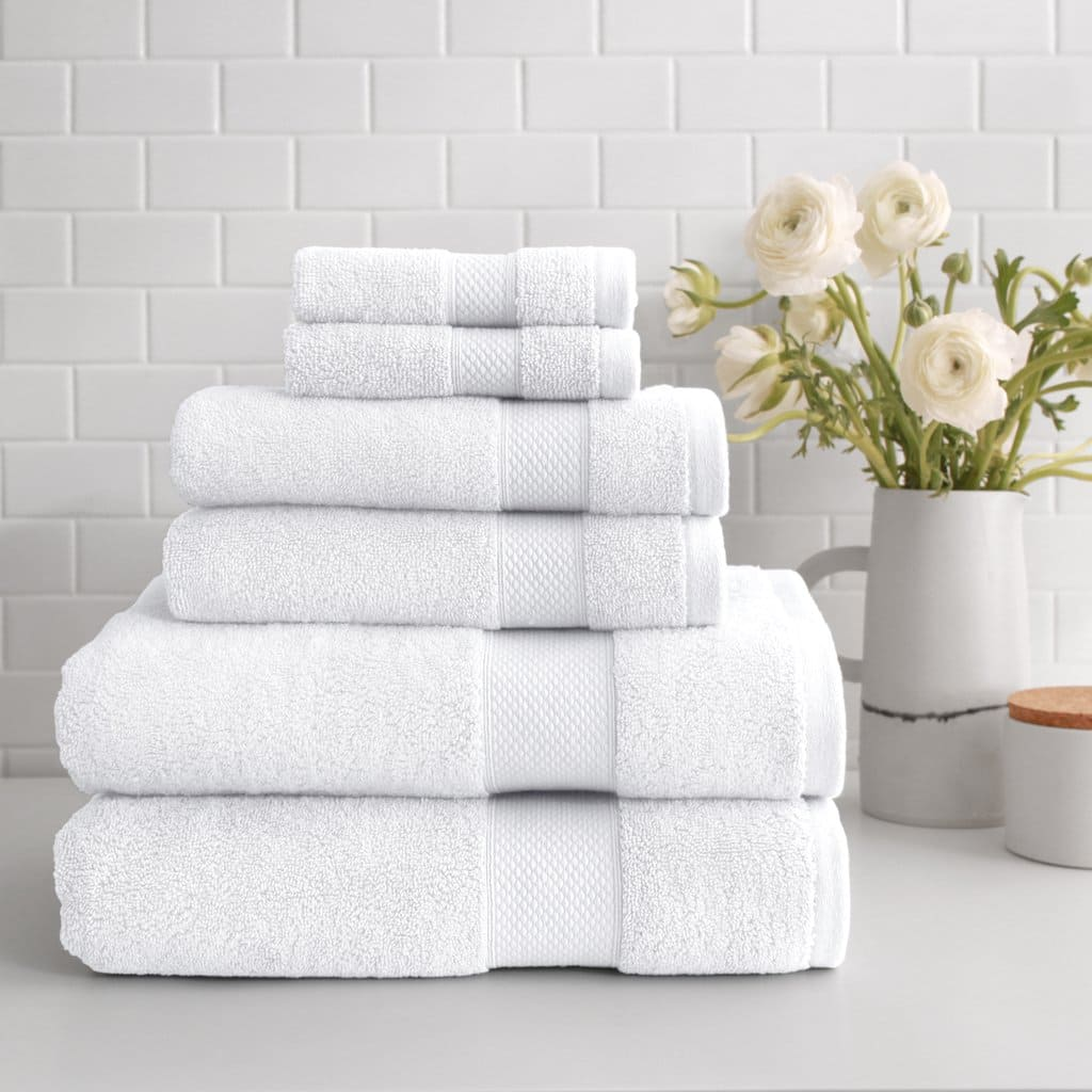 6-Pc. Peacock Alley 700GSM Turkish Extra-long Staple Cotton Towel Set $69 + free s/h