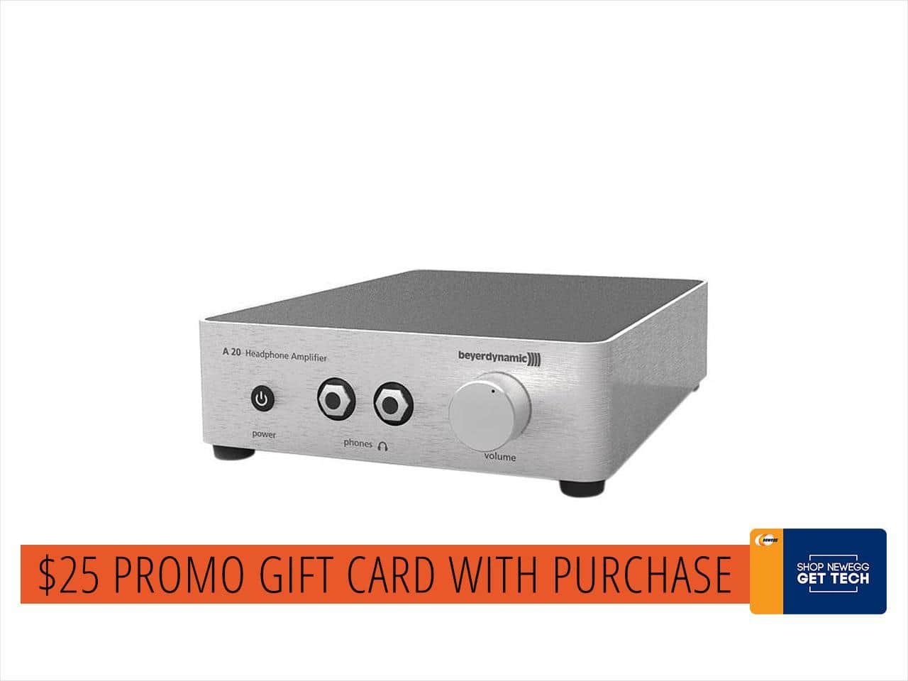 Beyerdynamic A20 Headphone Amplifier + $25 Newegg Promo Gift Card $300 + free s/h