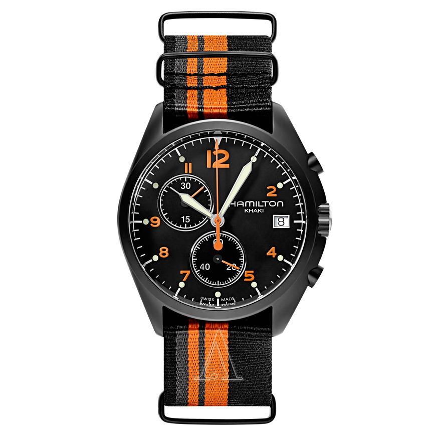 Hamilton Men's Khaki Aviation Pilot Pioneer Chronograph Quartz Watch $279 + free s/h