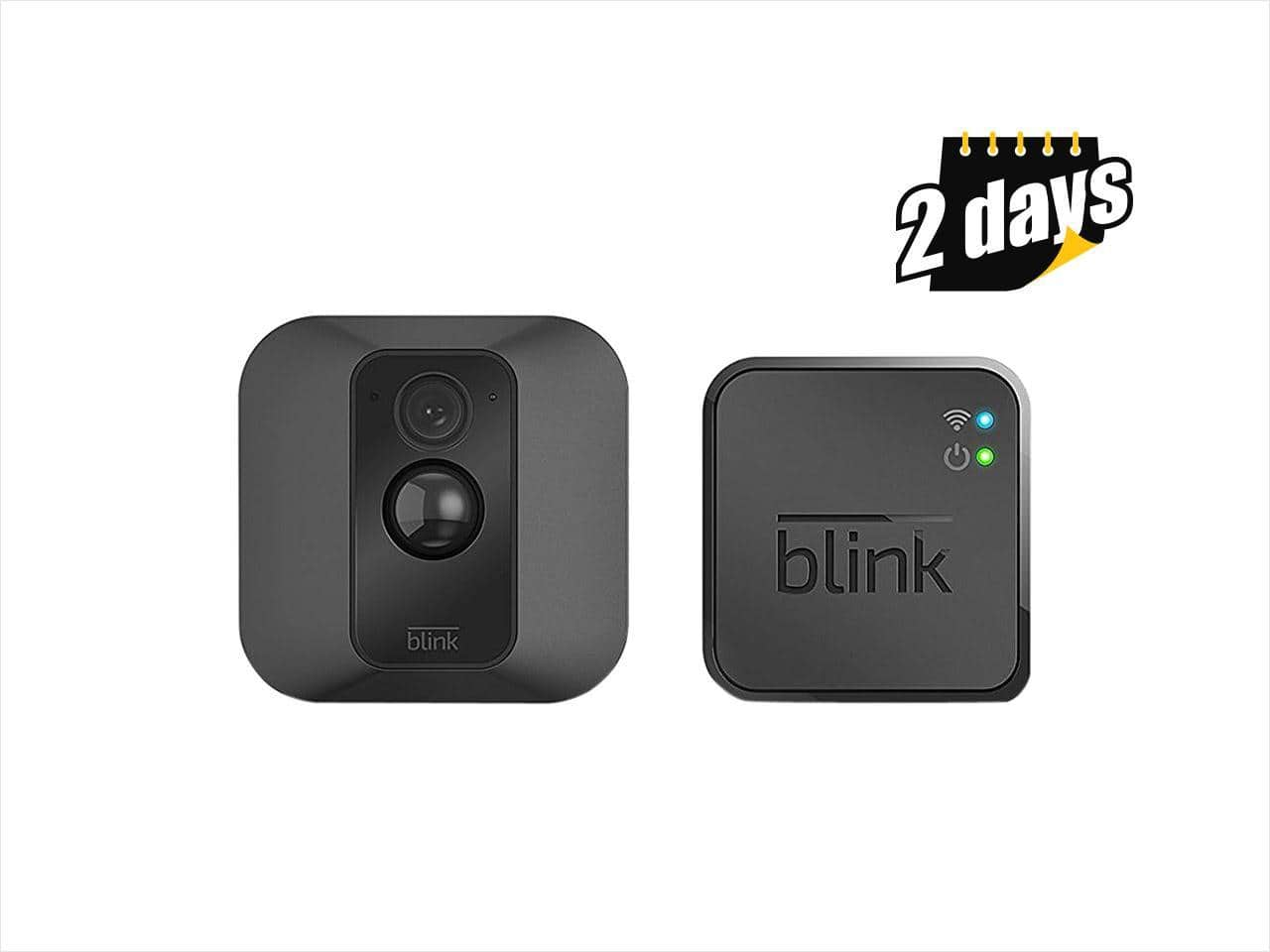 Blink XT One Home Security Camera w/ 2-Year Battery & Cloud Storage $100 + free s/h