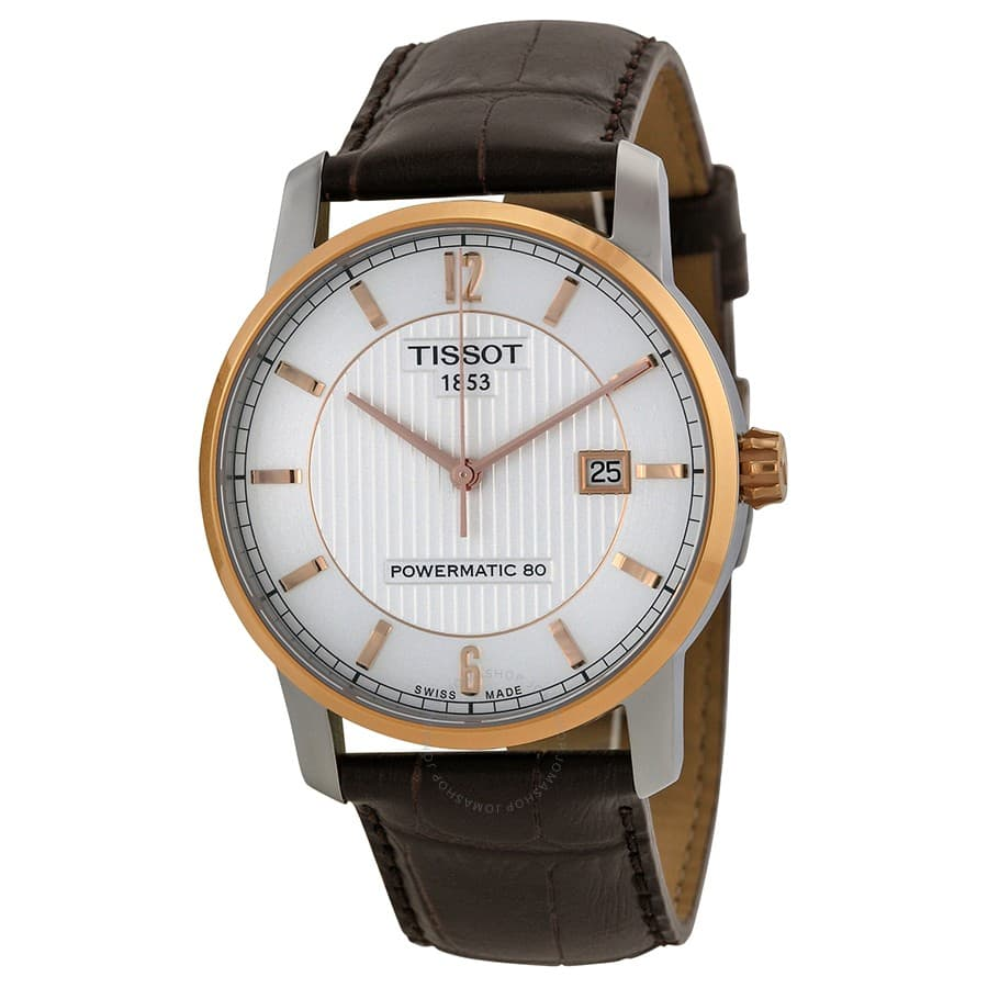 Tissot T-Classic Powermatic 80 Automatic Men's Watch $300 + free s/h