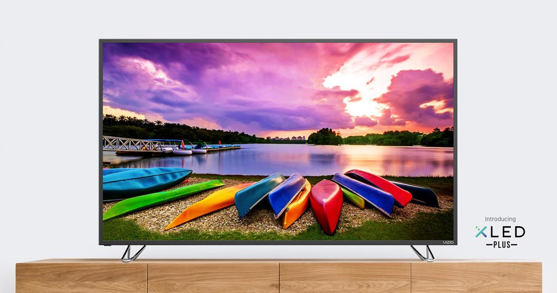 """75"""" Vizio M75-E1 4K Smart TV + $500 Dell eGC $1700 + free s/h"""