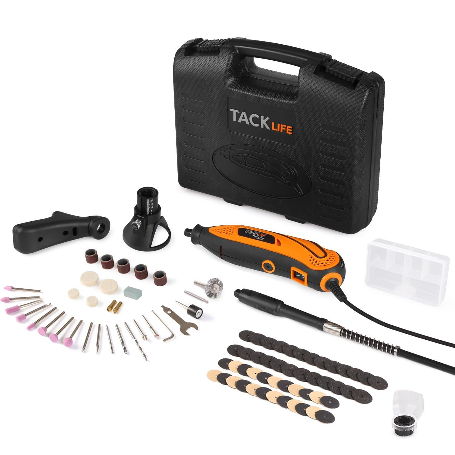 Tacklife Rotary Tool Kit w/ 80 Accessories & 4 Attachments $26.50 + free s/h
