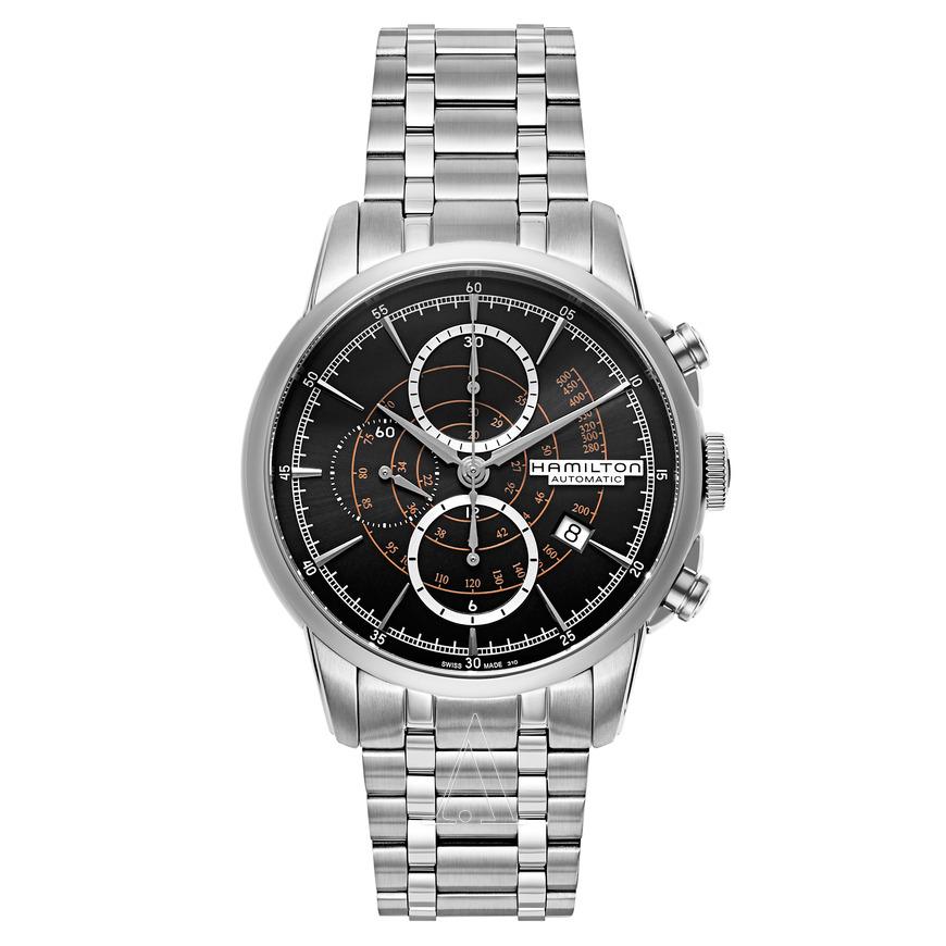 Hamilton Men's American Classic Railroad Automatic Chronograph Watch $799 + free s/h