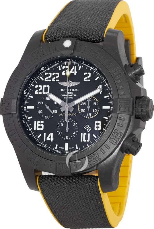 Breitling Avenger Hurricane (50mm and 45mm) Mil Style or Cobra Yellow Auomatic Chronograph Watch $4950 + free s/h