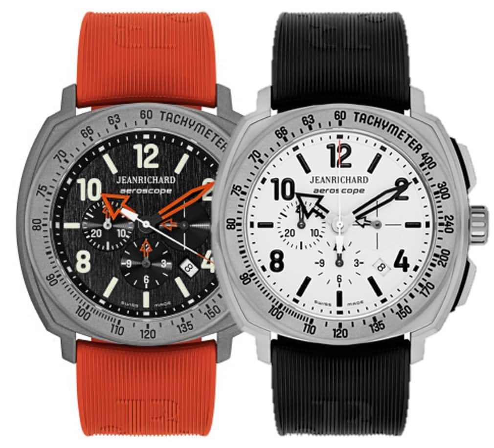 JeanRichard Titanium Aeroscope Automatic Chronograph Watch $939 + free s/h