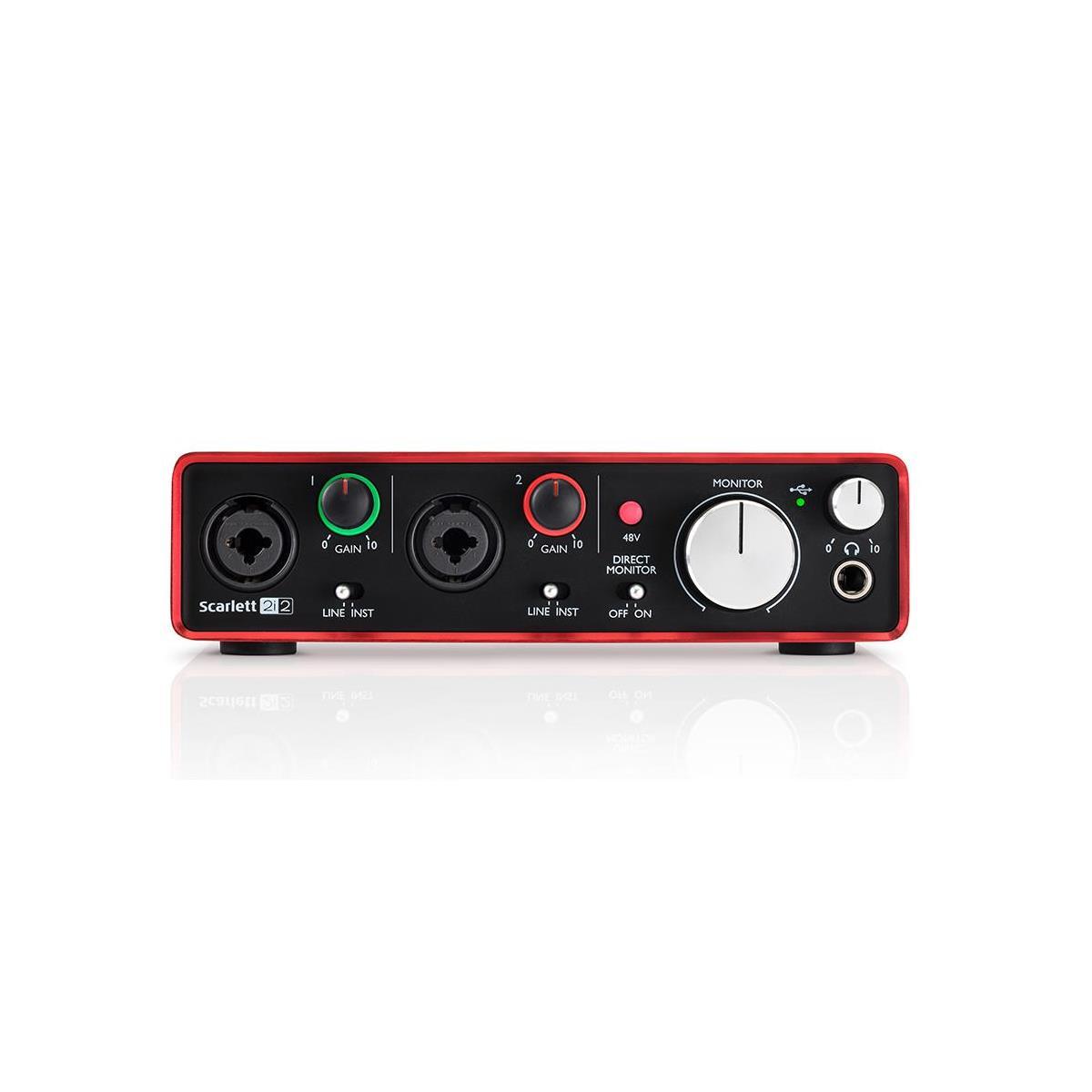Focusrite Scarlett 2i2 2nd Gen Audio Interface $105 + free s/h