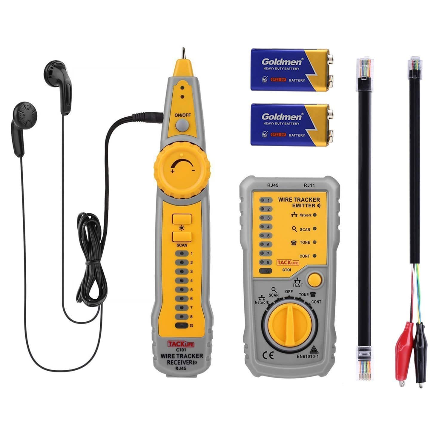 Tack Life Ct01 Multifunctional Wire Tracer Cable Tester Featured Electrical Circuit Tracers And Testers At Test Equipment Deal Image
